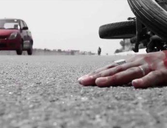 सड़क दुर्घटना में पत्रकार की मां घायल