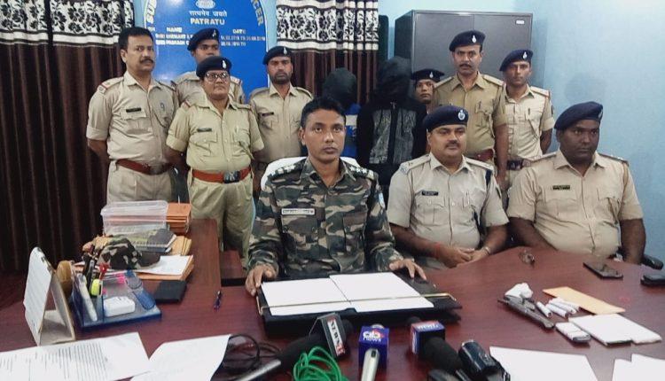टीपीसी के दो उग्रवादियों को पुलिस ने दबोचा, हथियार भी बरामद